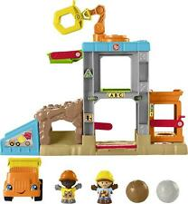 Fisher Price Little People Load Up and Learn Musical Construction Site Playset