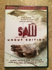 SAW UNCUT EDITION 2004 DVD 2 - DISC SPECIAL EDITION