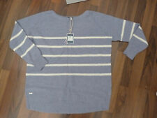 BNWT Joules blue stripy RELAXED Marnia jumper with cashmere sz 12 UK