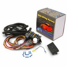 12V 10 Circuit Basic Wire Harness Fuse Box street Hot Rat Rod Wiring Car Truck