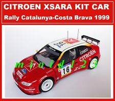 WRC 1/24 - CITROEN XSARA KIT CAR - Bugalski Chiaroni - Rally Catalunya 1999