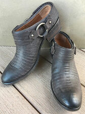 NEW/NIB Frye Carson Boots/Clogs/Mules Dk Brown 7 7.5 ret'l $278 Harness Leather