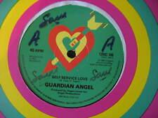 "GUARDIAN ANGEL-SELF SERVICE LOVE. ORIG 1980 REGGAE/SKA 12"" SINGLE. VG CON"