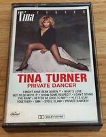Tina Turner Private Dancer Tape Cassette Album Capitol