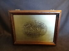 Flor De Spencer Wood Wooden Superiores Cigar Box