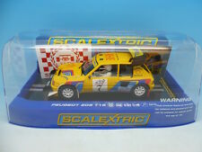 Scalextric 205 T16, C3641, sln voiture one of only 65 worldwide