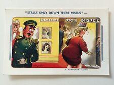 Vintage Postcard - Bamforth Comic By Taylor #2095 - Unused But Stamped
