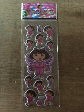 Puffy DORA EXPLORER CARTOON Adhesivos-Scrapbooking-Tarjeta de decisiones-Artesanía - 5 por 4