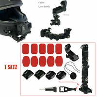 Adhesive Helmet Chin Mount Helm Action Kamera Zubehör-Kit Für Gopro Hero 6 5 4 3