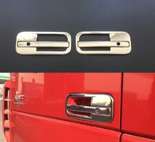 3D Chrome Mirror Stainless Steel Metal Handle Door Covers for DAF XF 106 L&R