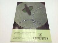 Christie's Auction Catalog 20th Century Decorative Arts & Crafts June 5 1992