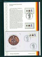 BRD ETSB 1999/22 ERSTTAGS-SAMMELBLATT 1200 JAHRE BISTUM PADERBORN KREUZ JESUS