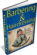 Barbering & Hairdressing Vintage Books Collection 35 PDF E-Books DVD