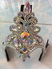 1X Beautiful Headdress Drag Queen Showgirl Cabaret  Handmade