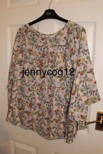 Next Ladies Floral Print Ruffle Top Size 16 BNWT SOLD OUT