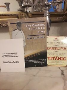Captain Smith TITANIC White Star Line unique weird spooky Liverpool memorabilia