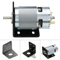 775 Motor With L-type Mounting Bracket DC 12V 10000rpm Double Ball Bearing Kit