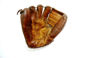 "Vintage 1950's RAWLINGS Mickey Mantle Baseball Glove Autograph Model No MM4 11"""