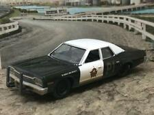 BLUES BROTHERS 1974 74 DODGE MONACO WEATHERED EX POLICE CAR 1/64 SCALE D15
