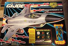 GI Joe Battle Corps Ghostriker X-16 Combat Jet with Ace Fighter Pilot MIB 1992