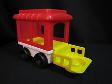 Fisher Price Little People Vintage CIRCUS Zoo TRAIN CAR Piece 2373 Dated '91