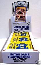 1990 Notre Dame Joe Montana Unopened Full Store Box