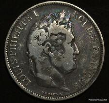 5 FRANCS ARGENT LOUIS-PHILIPPE .1831 B .TETE NUE voir scans   B11