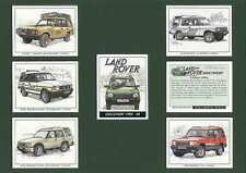 GOLDEN ERA - SET OF 7  LAND  ROVER  DISCOVERY -  2001