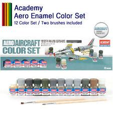 Academy Aero Aircraft Enamel Color Set Tools 12color