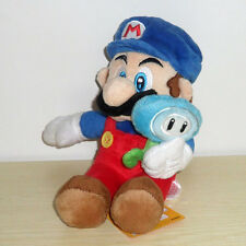 """New Super Mario With ICE Flower Plush Doll Toy 6"""""""