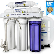 iSpring Reverse Osmosis Water Filter System 5 Stage 75GPD - RCC7