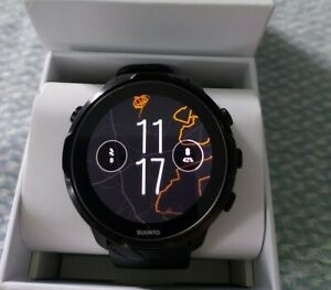 Suunto 7 Touchscreen Smart Watch Black GPS Fitness Sports. Excellent Condition.