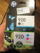 HP 920 Combo pack and 920 black all new exp. dates 8-2019 plus all new in sealed
