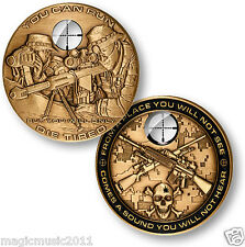10-Pack SNIPER Challenge Coins, CNC01-Q10
