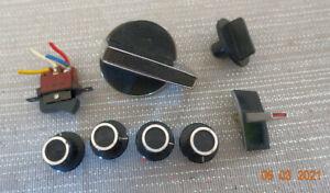 Drehknöpfe und Schalter für Tonbandgerät SONY TC377