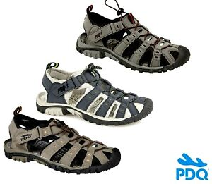 Mens Boys PDQ Enclosed Casual Beach Walking Sports Sandals Summer Size 2 - 12 UK