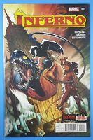 INFERNO #3 (of 5) Secret Wars Marvel Comics X-Men 2015