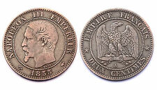 2 Centimes 1855 A (Paris). Napoléon III°. France. Bronze