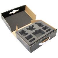 Defender Figure Case including 5 Infantry Foam Trays Holds 180 Models