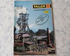 Faller Modellismo Anno Catalogo 1983