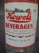 HOWEL'S ROOT BEER ACL SODA POP BOTTLE JOHNSTOWN PITTSBURGH PA ELF & TRAY ACL RED
