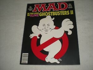 """Classic """"MAD Magazine"""" October 1989 No. 290 Excellent - Ghostbusters II Cover"""