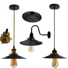 Vintage Pendant Lamp Shade Ceiling Light Industrial Retro Kitchen Pendant Lights
