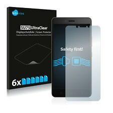 6x Savvies Screen Protector for Lenovo K6 Note (5.5) Ultra Clear