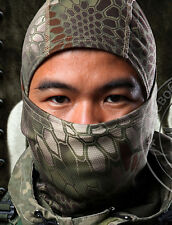 Camouflage Balaclava Full Face Mask Camo Hunting Airsoft Paintball Jungle Camo
