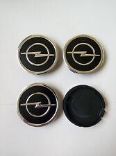 Opel 4x Alloy Wheel Center Caps FOR RIM 55mm