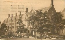 New Haven, CT YWCA Young Women's Christian Association Postcard Posted 1942