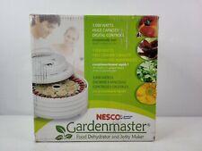 Nesco Gardenmaster Food Dehydrator and Jerky Maker FD1040 Open Box New