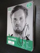 54607 Felix Storbeck DHFK Leipzig Handball original signierte Autogrammkarte