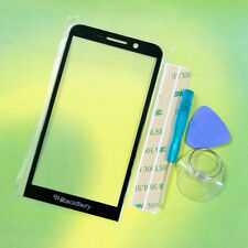 NEW Front Outer Glass Lens Replacement Part For BlackBerry Z30 +Tools 3M Tape